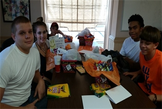 Cullman County Delivers Candygrams to Community Organizations