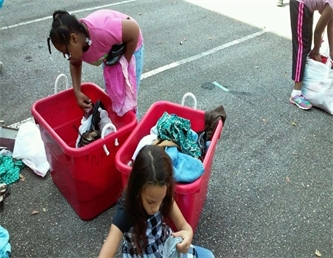 Greenville/Pickens County Assist in Clothing Drive
