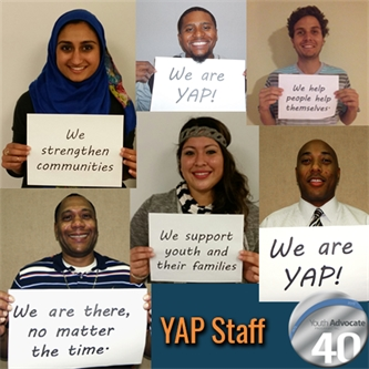 YAP Staff Give Back Year Round In Many Ways
