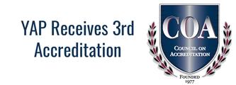 YAP Receives COA Reaccreditation