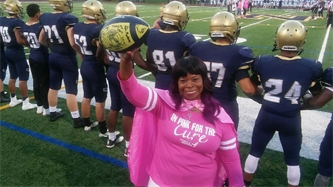 Orange County Caseworker and Breast Cancer Survivor Honored