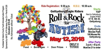 Roll and Rock for Autism Fundraiser - Adams County