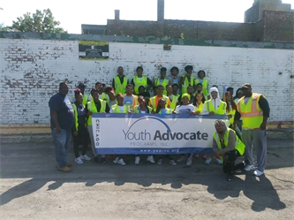Chicago Youth Give Back through Service