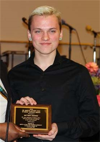 NY YAP Youth Selected for Student Service Award