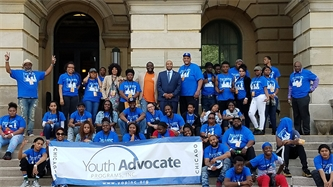 Chicago YAP Participants Tell State Lawmakers to Fund Community-Based Services