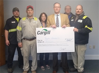 Cargill Donation will Create Garden for Youth Advocate Programs and Adult Services