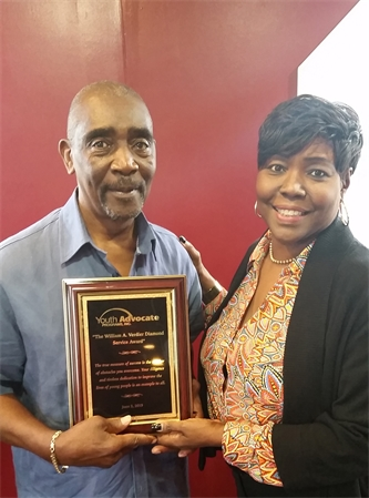 William A. Verdier Retires After Serving Dozens of Newark Young People Over 15 Years as a Youth Advocate Programs (YAP), Inc. Advocate