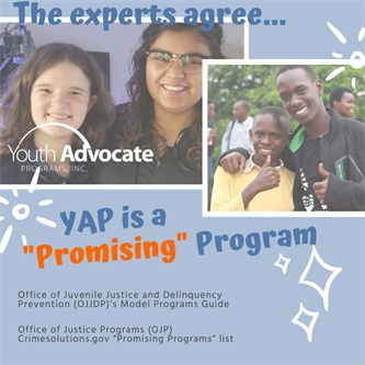 "Youth Advocate Programs (YAP), Inc.'s Community-Based Alternative to Incarceration Recognized as ""Promising"" by Federal Evaluators"