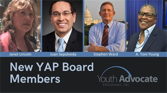 YAP Board Adds New Members as More Communities Implement its Alternatives to Youth Incarceration and Congregate Placement