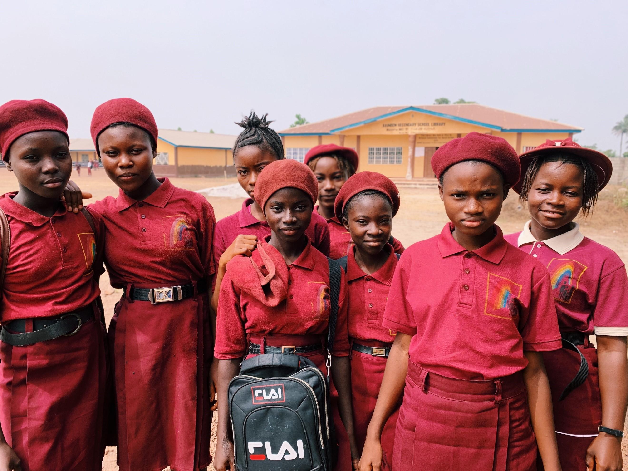 Future nurses of Sierra Leone
