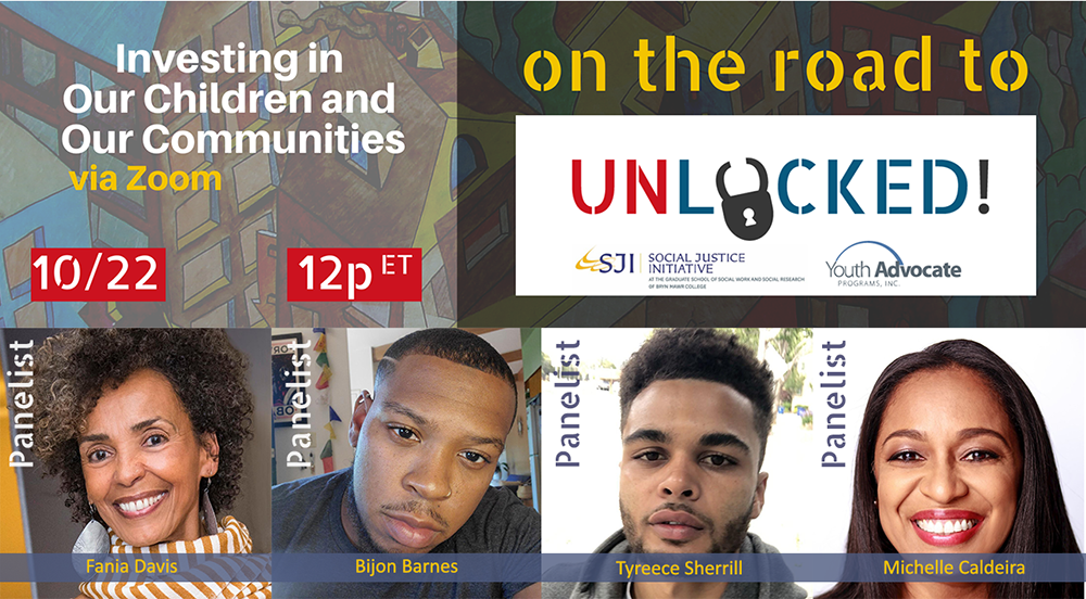 Virtual Presentation to Feature Leaders Who are Disrupting Youth Incarceration and Reforming Systems that Disproportionately Harm Black, Brown and LGBTQ+ Young People